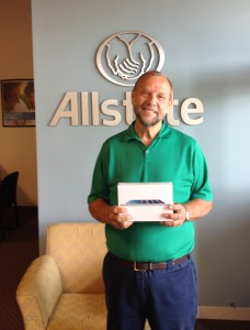 Allstate Insurance Agency Customer Referral Raffle Winner