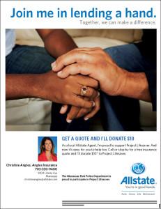 Insurance Manassas VA - Donation to Project Lifesaver