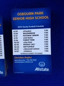 allsate_insurance_manassas_va_osbourn_park_football_schedule