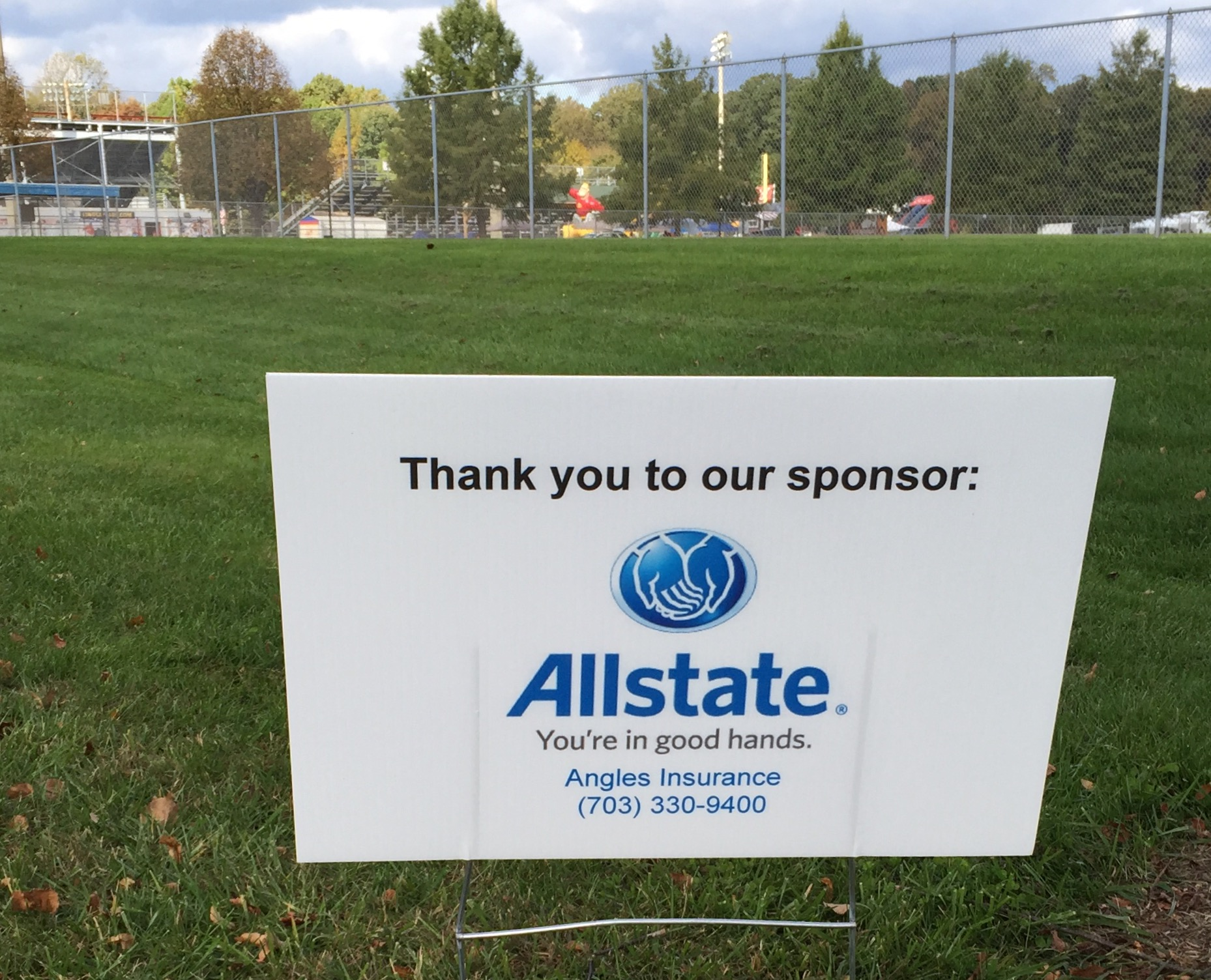 Allstate Insurance - Christine Angles, Manassas VA Sponsoring IWALK