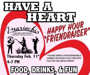 Friends of SERVE Have a Heart Friendraiser